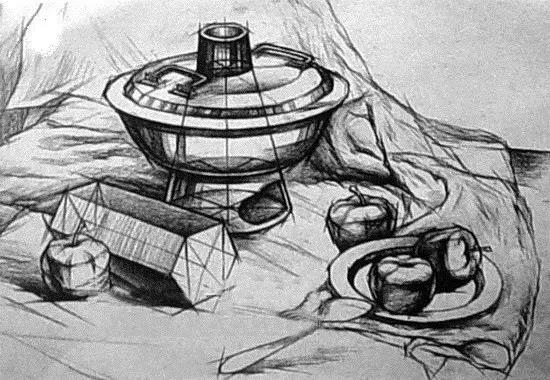 素描/怎样画静物结构,看这里!